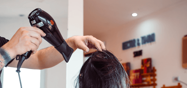 hair dryer lice removal